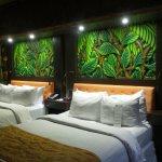 Tropical theme room