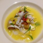 Charred Pineapple - Gazpacho - Coconut - Candy Chill - Coriander