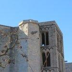 """Torre de Carlemany i la """"Bruixa de la Catedral""""."""