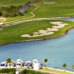 The Puerto Cancun golf course offers the perfect blend between nature and modernism