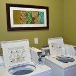 Convenient on-site guest laundry.