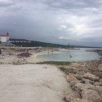 Luxury side beach view