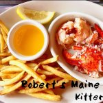 Robert's Steamed Lobster at Rober's Maine Grill