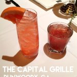 Capital Grille's Grapefruit Buck and Raspberry Sidecar