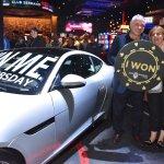 Club Serrano member Robert won a Jaguar F-Type at San Manuel Casino on Jan. 18, 2018.