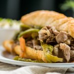 Chicago Italian Beef Sandwich