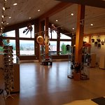 Inside image of the new Spirits of the West Coast Native Art Gallery