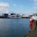 Sunseeker at Poole Quay