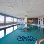 Gorgeous indoor heated pool so you can swim in any weather.