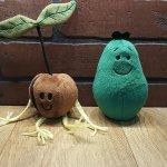 Avocado plush toys