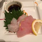 Local sashimi picks selected by our server