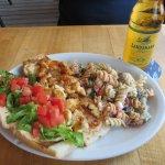 Grilled Lobster Poboy