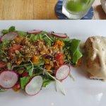 Salmon Salad - Best Item We Ordered