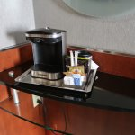coffee machine in the room