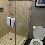 shower only. no bath tub