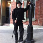 Ghostly Walks founder John Adams in Bastion Square