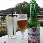 Beer and lemonade