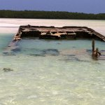 Wooden Ship ruins to paddle boat to