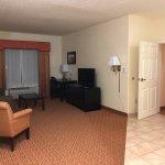 King jacuzzi suite, 401.  Top floor.  Huge!  Amazing room!