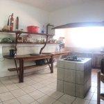 Self-serve kitchen area