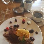 Dessert - Perfect chocolate ending paired with black coffee