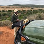 Lobengula and the Reserve ... with SJ looking after us.