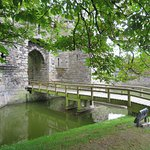 Bridge over the moat.