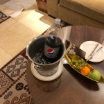 I left a bottle of pepsi in my room, and the staff put it in a chilled ice bucket without me ask