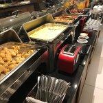 Café da manhã variado