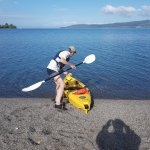 Direct access to lake with owner's kayak