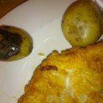 Black potato served up!