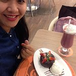 Lava cake is yummy and it's our first time here it was and awesome  Super love it  And the servi