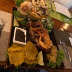 Special dinner for 2 - Grilled red snapper, jumbo prawns, ceviche and seafood in ajillo sauce