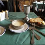 Delicious potato/leek soup & breads from historic recipes including Thomas Jefferson's favorite.