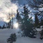 Im Schnee am Katschberg