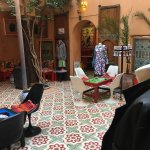 Photo de Tea room Riad Yima