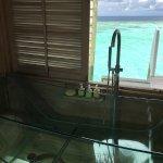 bathtub area