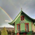 Rainbow over the Vestal Museum
