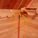 Nice Rustic Craftsmanship With The Closet Rod.