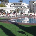 Newly refurbished pool area at Vista Oasis just like heaven