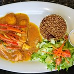 Curried Grouper