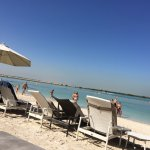 Yas Island Private Beach - complimentary from hotel