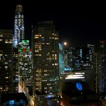 Marriott Marquis SF - Suite 3056 - Night Views From Twin Balconies