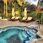 One of many pool areas at Sandals Grande St. Lucian