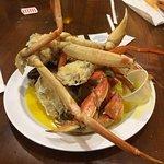 Crab, Crab and more Crab.