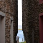 A ginnel in the town of Stromness