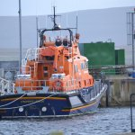 Stromness Lifeboat in the harbour