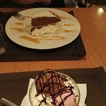 I visited Moka restaurant  late Saturday to celebrate my dairly's birthday: delicious, quick ser