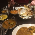 Dinner at the Rajinda Pradesh