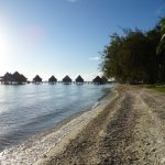Looking at Hotel Kia Ora (It's few minute walk from Pension Bounty and you can snorkel here .)